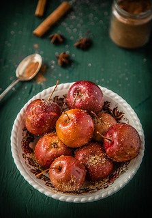 Cinnamon and Sugar Crab Apples | by gratinee