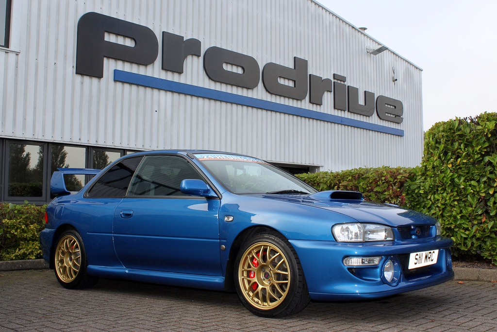 Subaru Impreza 22B STi | The two greatest icons from the ...