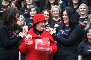2012 Scottish Poppy Appeal Launch with Susan Boyle and Military Wives Choir | by Poppyscotland