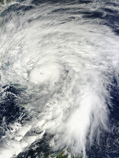 NASA's Terra Satellite Shows a Larger Hurricane Sandy Over Bahamas | by NASA Goddard Photo and Video