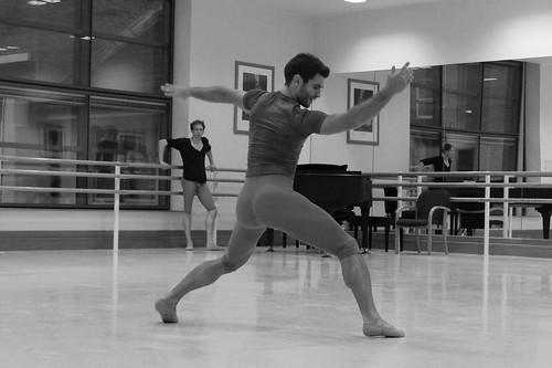 Paul Kay in rehearsals with Wayne McGregor | Random Dance © Chris Shipman/ROH | by Royal Opera House Covent Garden