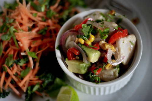 Corn and Avocado Ceviche | by monica.shaw