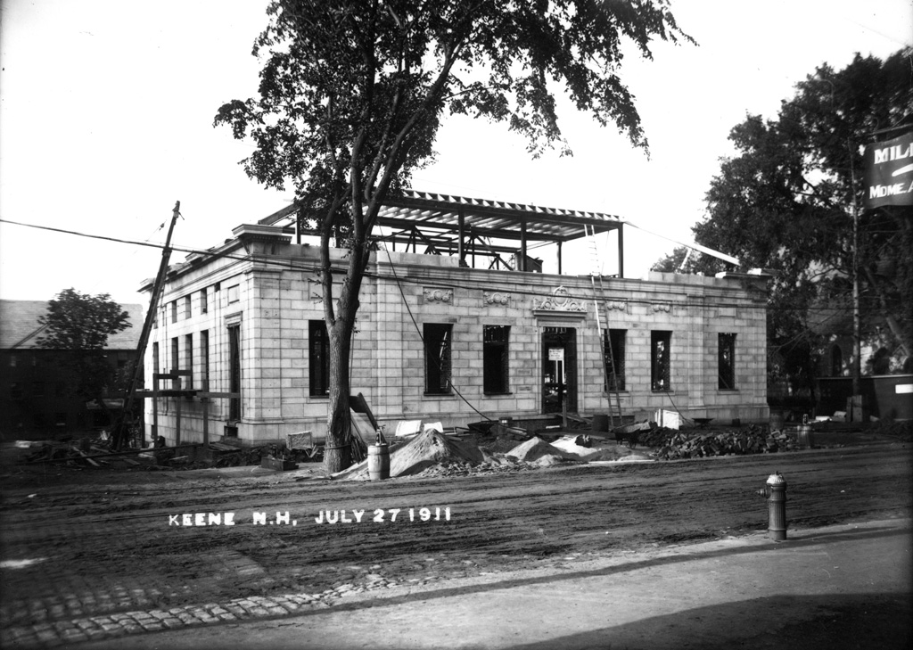 Post Office Construction In Keene New Hampshire Title