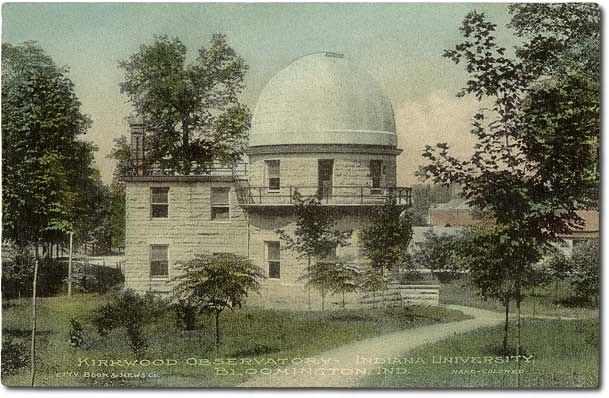 Kirkwood observatory indiana university bloomington for Kirkwood elevation