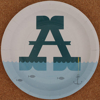 MAGPIE plate letter A | by Leo Reynolds
