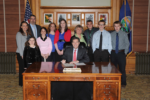 Kansas Mentoring Month Proclamation | by KYEA Photos