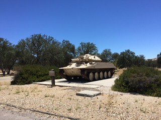 Sheridan Tank, Fort Hunter Liggett near Jolon CA