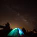 Camping at Brantley Lake