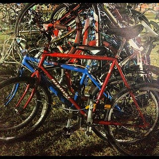 Lesssgo... Home. #aclfest #bikeparking | by calitexican