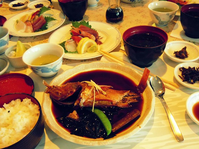 Traditional japanese food flickr photo sharing for Authentic japanese cuisine