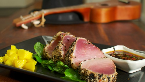 Sesame crusted tuna | by clouserw