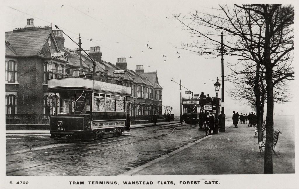 West Ham Corporation Tramways Wanstead Flats Forest Gat