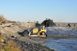 Plumb Beach Coastal Storm Risk Reduction Work in Brooklyn - 10-22-12 (protecting the Belt Parkway) | by USACE NY