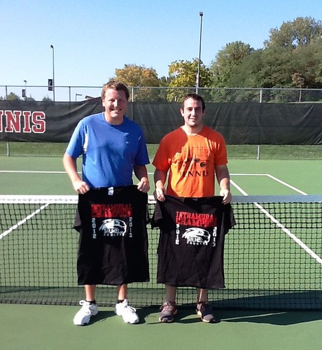 Tennis Doubles Champs | Fall 2012 | by SIUE Campus Recreation