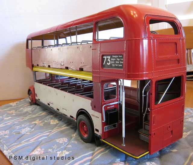 revell 1 24th scale routemaster london double decker bus build flickr photo sharing. Black Bedroom Furniture Sets. Home Design Ideas