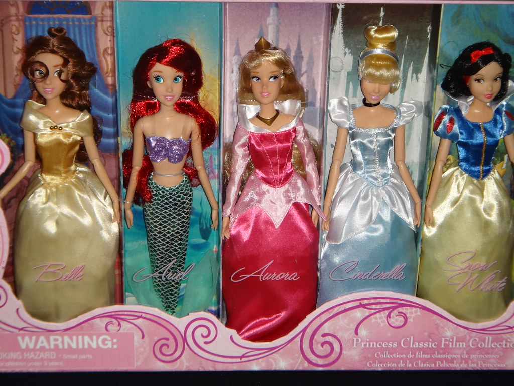 2012 Disney Princess Classic Film Collection 10 Doll Set