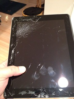 I dropped my iPad 3 | by blakespot