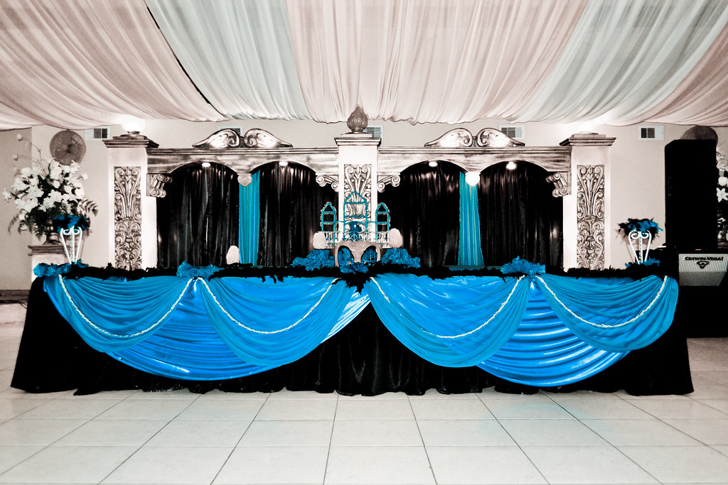 Rincon Real Reception Hall Quinceanera Main Table July 201 Flickr