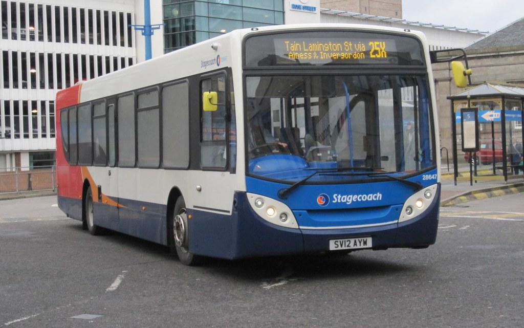 ... Stagecoach Highlands 28647 SV12 AYW | by Inverness Trucker