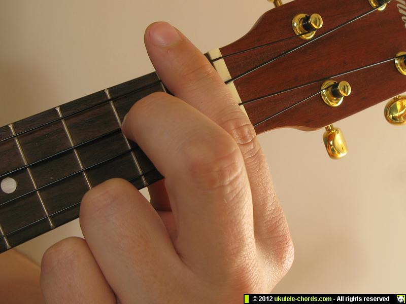 Bb7 Ukulele Chord How To Play A Bb7 On The Soprano For Al Flickr