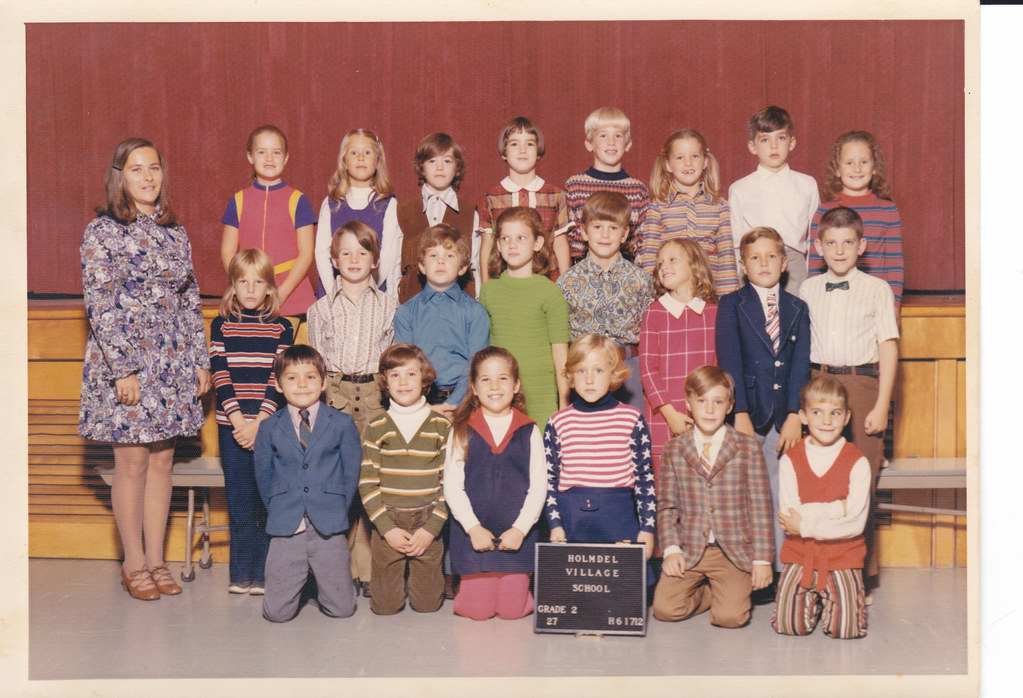 village school  holmdel  new jersey  class picture  2nd gr