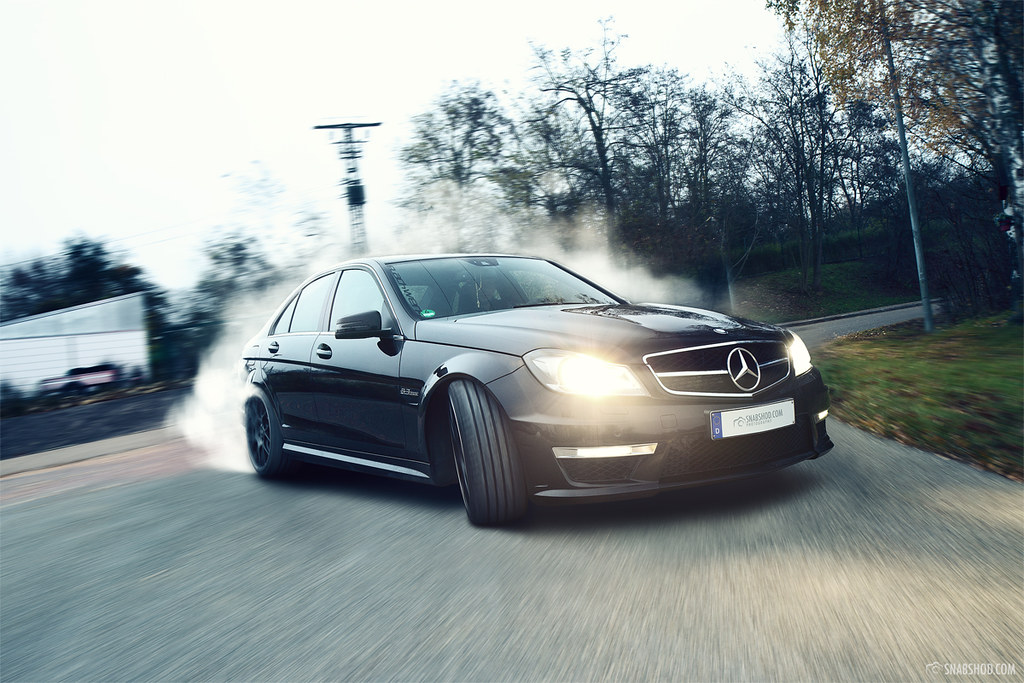 Mercedes Benz C63 Amg 2 Time To Drift See The