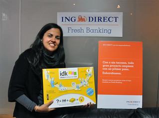 ING DIRECT apoya las buenas ideas