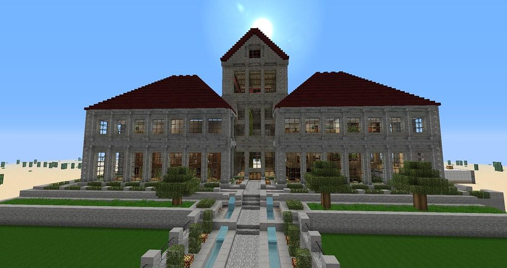 Minecraft Hotel Ferryfanatic Flickr