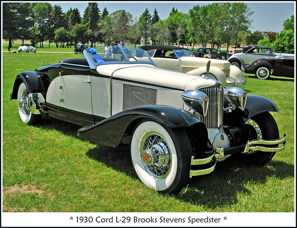 1930 Cord L 29 Brooks Stevens Speedster The June 5 2011
