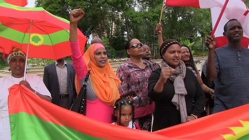 Oromo Protest - August 19, 2016