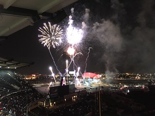 Fireworks Finale at Angel Stadium | by queenkv