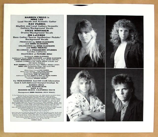 """BARREN CROSS ATOMIC ARENA 12"""" LP VINYL"""