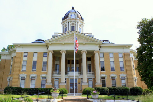 Simpson Co. Courthouse - Mendenhall, MS