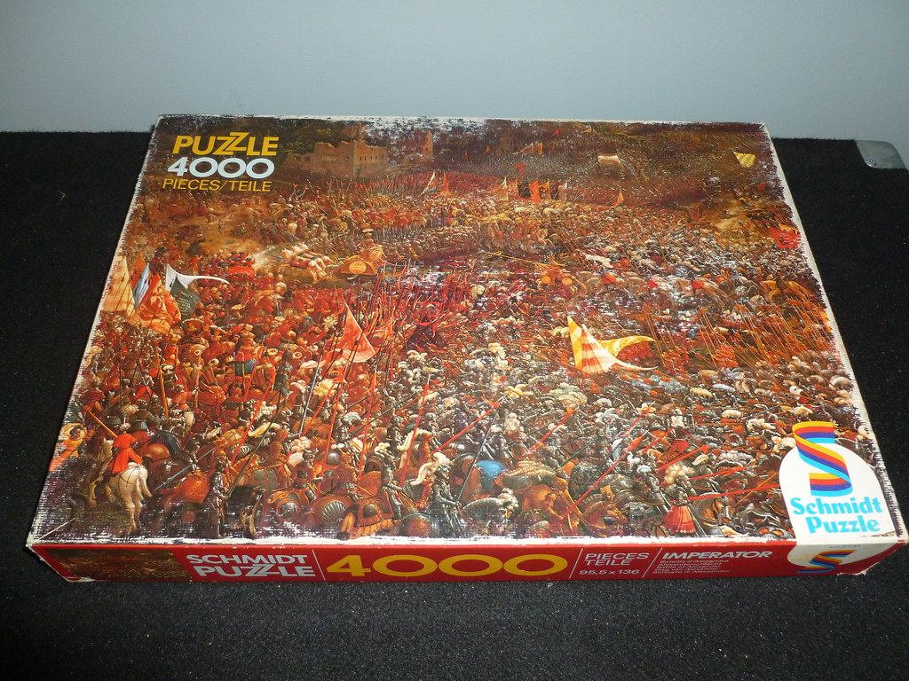 4000 piece puzzle battle of alexander by albrecht altd flickr. Black Bedroom Furniture Sets. Home Design Ideas