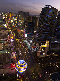 sunset on the las vegas strip 3 | by Eva Blue