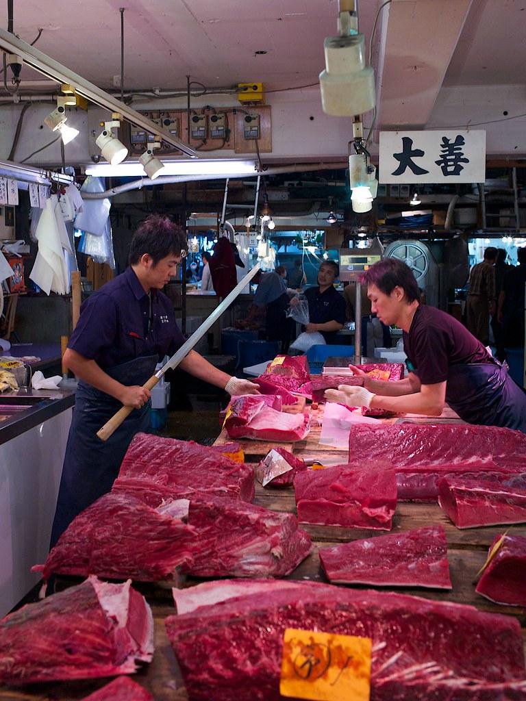 2012 10 05 At 19 53 01 Tokyo Tuna At The Tsukiji Fish