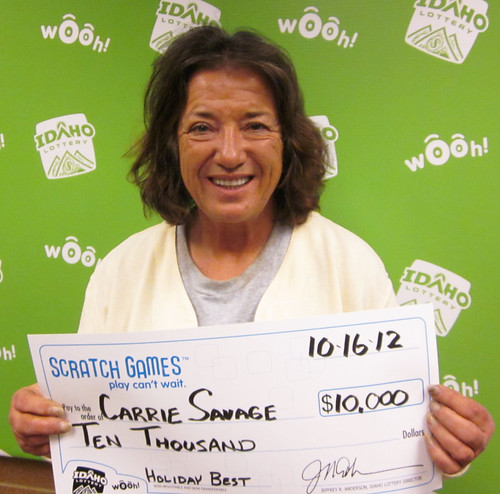 Carrie Savage - $10,000 Holiday Best | by Idaho Lottery