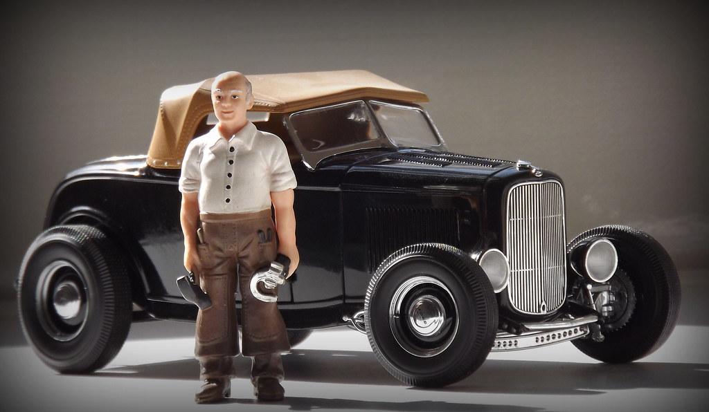ford 1932 highboy hot rod coupe vintage deuce gmp 1 18 bla. Black Bedroom Furniture Sets. Home Design Ideas