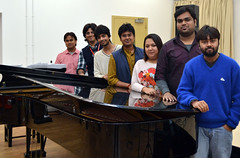 First students arrive in London for British-Indian music collaboration
