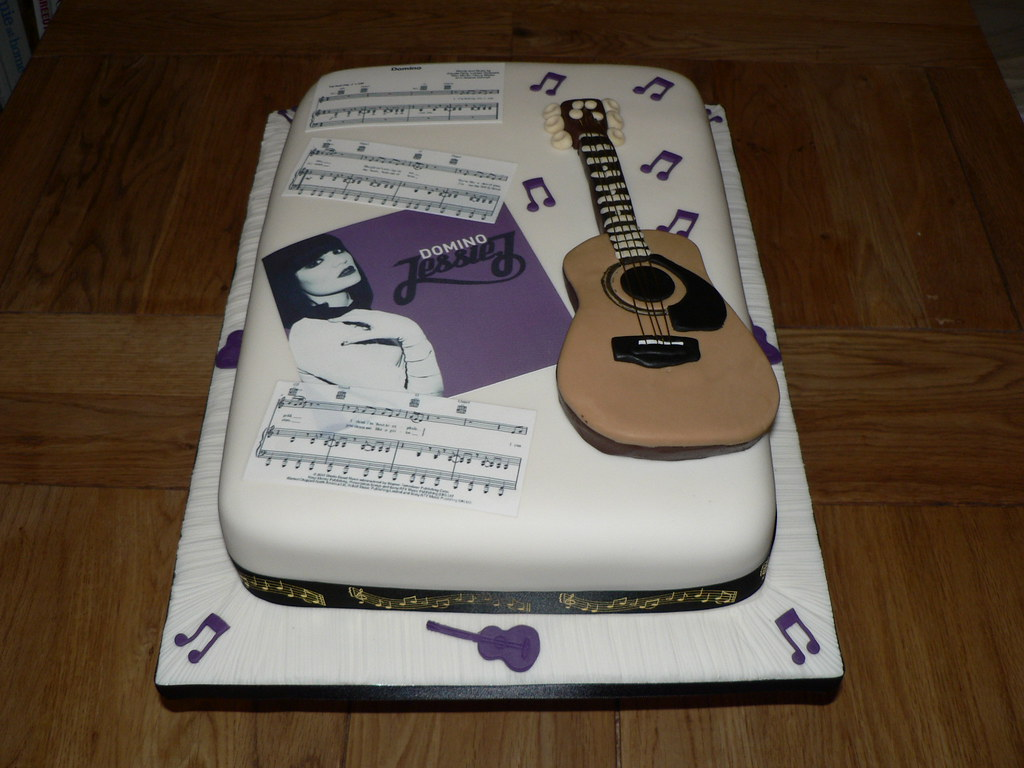 Jessie J Birthday Cake Jacky Nixon Flickr
