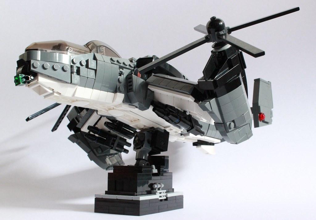 World Of Gunships >> Dragonfire Gunship   The Dragonfire VTOL Gunship was develop…   Flickr