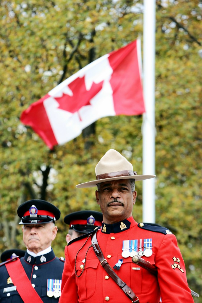 Rcmp Staff Sergeant Major Robert Akin Rcmp Staff