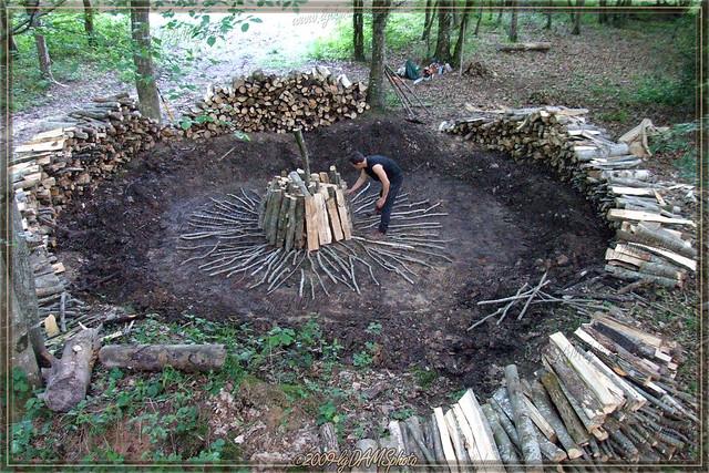 fabrication du charbon de bois