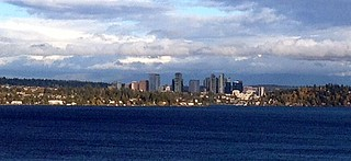 From the East Portal View Point:  Downtown Bellevue Across Lake Washington | by JoeInSouthernCA
