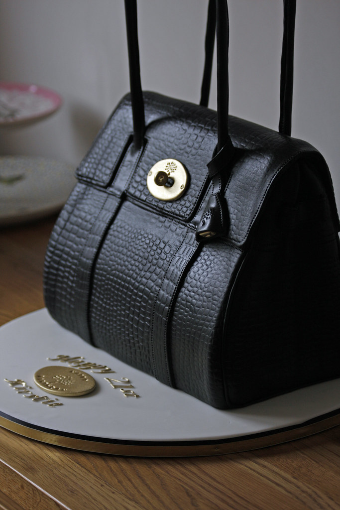 Kirstie S Mulberry Cake Last Weeks Mulberry Bag Cake I