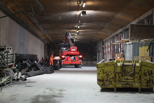Unused Motorway Tunnel under Zurich Central Station | by Mikael Colville-Andersen