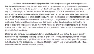 Oracle Payment Systems Reviews-Electronic Check Conversion | by oracle payment systems