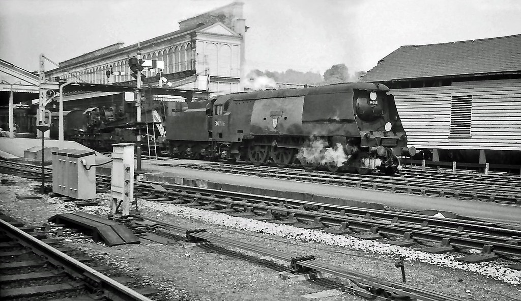34006 Bude Exeter St David S June 1965 Sr West Country Flickr