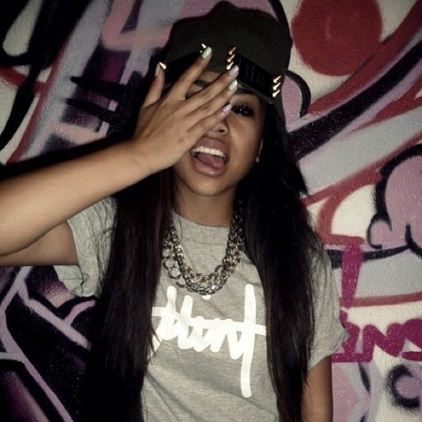 #tumblr #girl #mixie? #swag #pretty #spiked #hat #more #sw ...