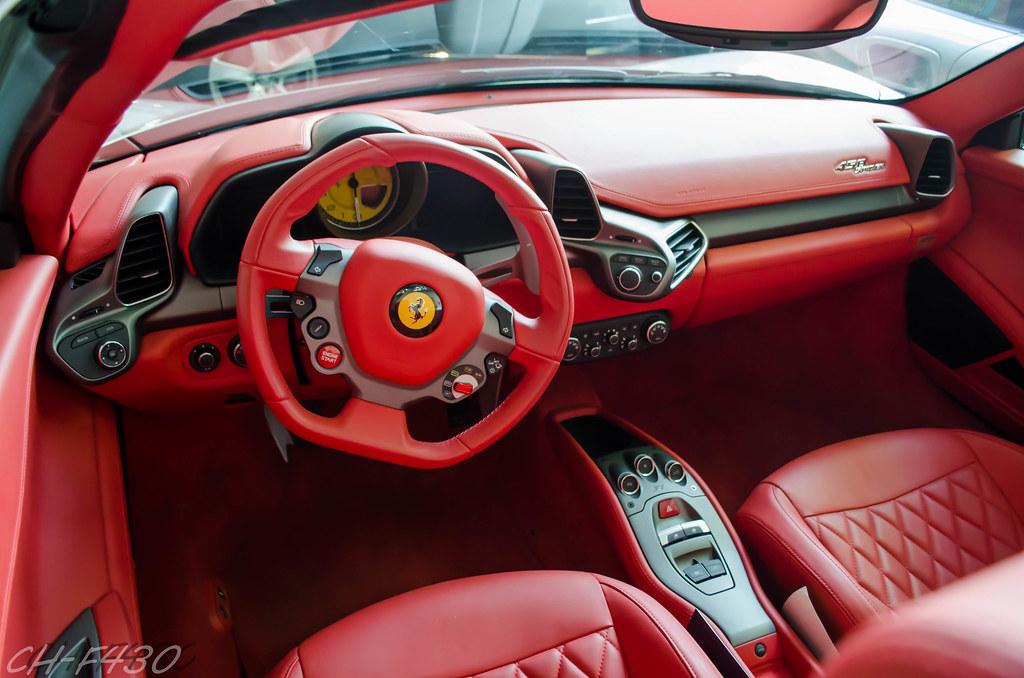ferrari 458 red interior. ferrari 458 italia spider interior by chf430 red e